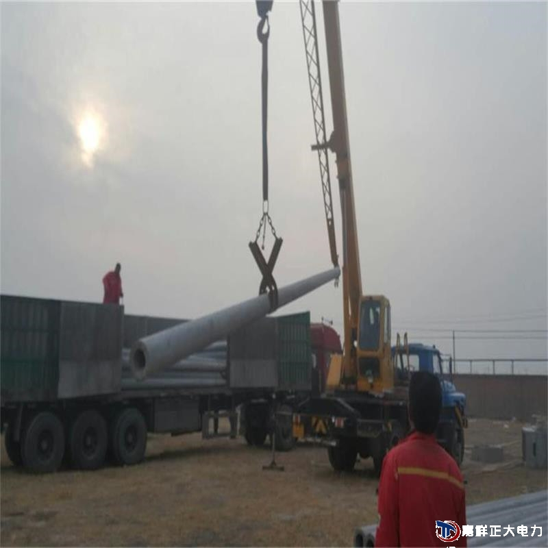 日照莒县北12米预应力电线杆自缷车客户反馈